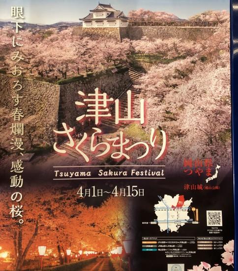 2018津山さくらまつり-津山市- Tsuyama Sakura Festival