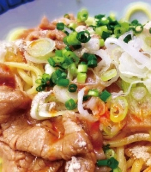 ラードン麺 -鳥取県三朝町-